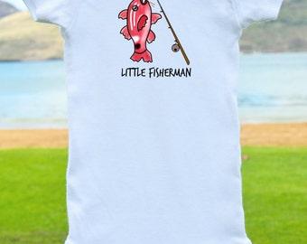 Little Fisherman Onesie