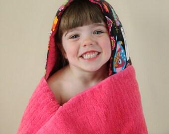 Girls Birthday Gift - Girls Towel Hoodie - Gift for Girls - Gift for Her - Towel Hoodie - Girls Hooded Towel - Girls Towel - Christmas Gift