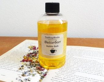 Butterbeer Bubble Bath 8 oz || Harry Potter, Hogsmeade, Book Lovers Gift, Spa, Bath