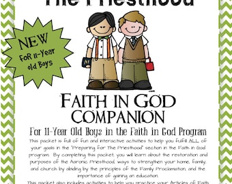 Preparing for the Priesthood~ Faith in God Companion