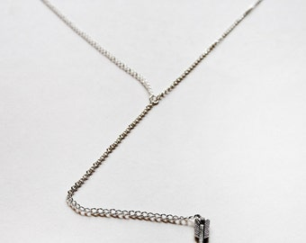 Dangle Arrow Necklace