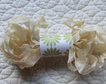 PRIMITIVE GRUNGY RIBBON - Grungy Cream