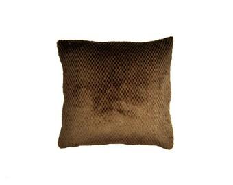 Pillow cover,Decorative pillow,brown pillow,soft pillow,throw pillow,cushion cover,pillow,accent pillow,home decor,Any Size,pillow case