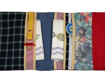 Diaper bag for on the go, Wickelorganizer, diaper bag, diaper pouch - 100% handmade in Duesseldorf TANJA 001