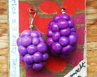 American Beauty Berry Earrings