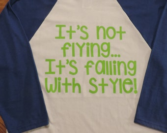 Toy Story Buzz Lightyear Shirts Falling with Style
