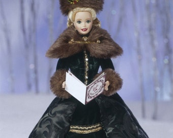 Vintage Holiday Caroler Barbie Doll  //Vintage Barbie Doll //Special Edition //Collectible Barbie // 90s