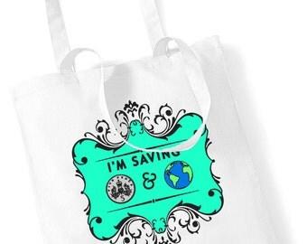 I'm Saving 5p & The Planet Tote Shopper Bag