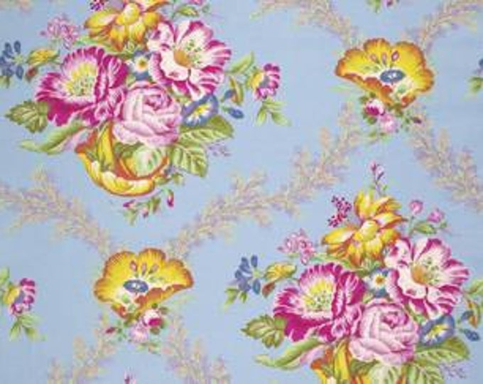 SALE 1 yard - Good Company by Jennifer Paganelli - Vickie JP089 Opal