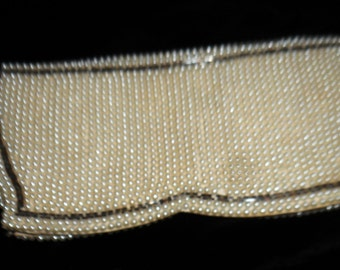 Early 1950's Pearl Clutch Bag, Very Good Condition