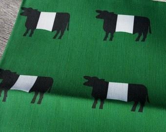 Belted Galloway Linen Tea Towel by SBMathieu