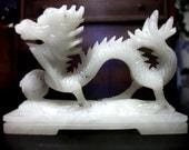 Foo Dog Lion Water Dragon Oriental Figurine Statue Small Sculpture