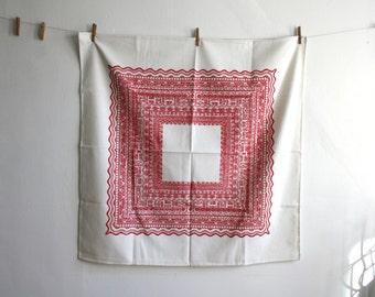 Scandinavian Linen Tablecloth