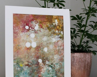 Abstract Painting Expressionism painting Original Painting  A Late Summer Dance   Garden Swalla Studio