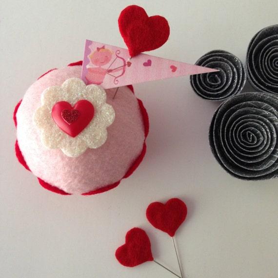 Heart Felt Cupcake Home Decor Valentine 39 S Day Gifts