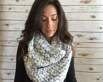 Chunky Oversized Infinity Scarf,  Extra Wide Infinity Scarf,, Winter Accessories