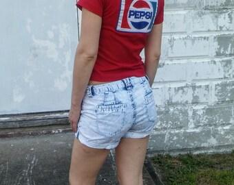 Pepsi Red White & Blue Star Tee