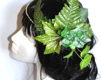 Ivy headdress Crown mother nature poison ivy whimsical woodland