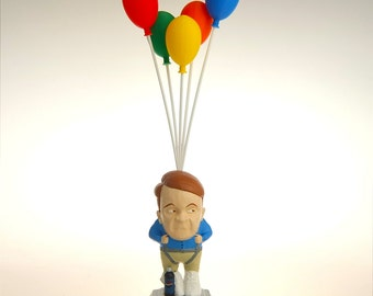 "Howard Stern - Eric ""The Actor"" Lynch ""Fly with Balloons"" Handpainted Sculpture"