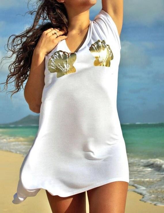 Mermaid High-Low TShirt Dress/Tunic / More Colors!