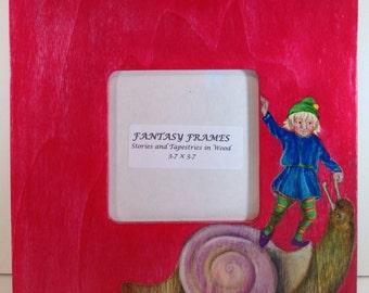FANTASY FRAMES, Elf and Snail