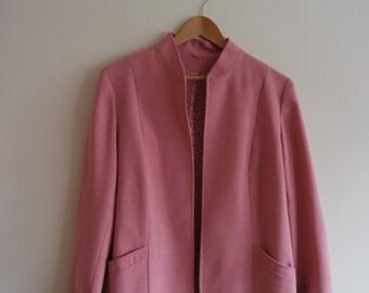 Vintage 1960's Dusky Pink Jacket