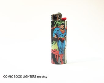 Superman Comic Book Lighter