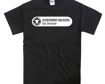 Xbox Achievement Got Dressed Tshirt