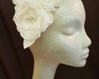JOSEPHINE Handmade Flower Fascinator
