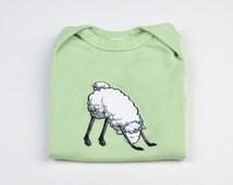 Yoga Sheep: Baby Onesies - Organic Cotton