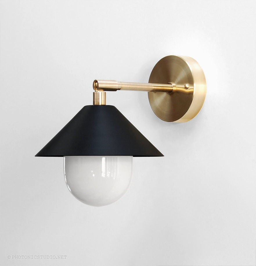 Modern Wall Lamp Modern Sconce Modern Wall Light Brass