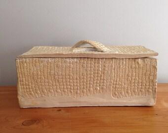 Handmade Ceramic Keepsake / Stash Box With Lid