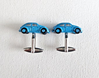 Volkswagen VW Cufflinks Cuff Links Van Beetle Wedding Groom Groomsmen Groomsman Gift