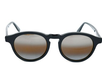 Mirage Comfort Sunglasses. Round mirror style. Made in Italy. NEW OLD STOCK 80s. Refurbished