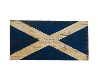Scotland Wood Flag Sign - Scottish sign - flag sign - outdoor Scotland sign - outdoor wooden flag - Scottish sign - Scotland flag