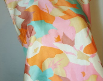 FREE  SHIPPING Vintage abstract Mod Dress