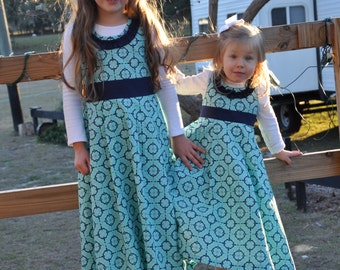 Girls Pleated A-Line Formal Jumpers {Sizes 6-12mos, 12-18mos, 2T, 3T, 4T, 5, 6, 7, 8, 10, 12}