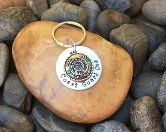 Coast Guard Keychain | Coast Guard Mom Keychain | Coast Guard Dad Keychain | Coast Guard Wife Keychain | Coast Guard Girlfriend Keychain