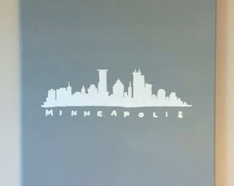 Minneapolis Canvas Painting