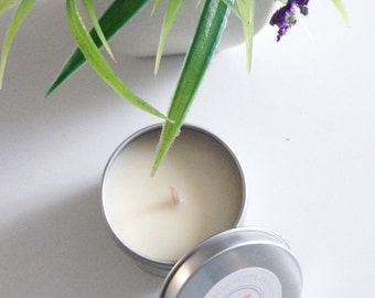 Candle oil essential small Grain and verbena, 100g soy wax