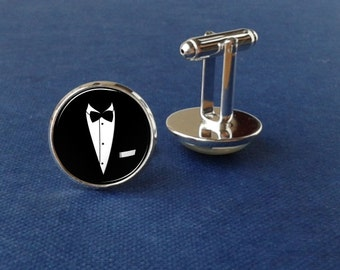 Suit Up! cufflinks, keepsake gift for groom, father, men, wedding day, personalize cufflinks, gift, anniversary, groomsmen, gift for him