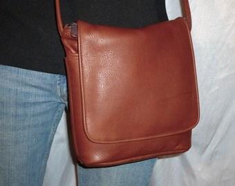 CROSS BODY ADJUSTABLE Strap Leather Handbag Style #200XW