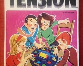 Tension 1971 Board Game Kohner Bros Inc