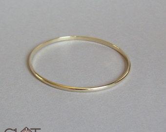 Solid Gold Bangle 14k Gold Bangle Gold Bracelet Bangle Bracelet Solid Gold Bracelet 14k Gold Bracelet Stacking Bangle Rose Gold Bangle