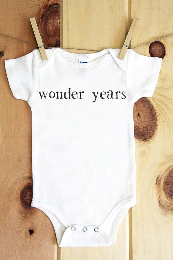 Wonder Years onesie