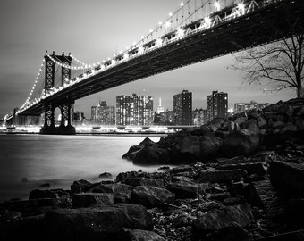 Love New York Print - New York Print, Brooklyn Bridge Print - New York Photography Print