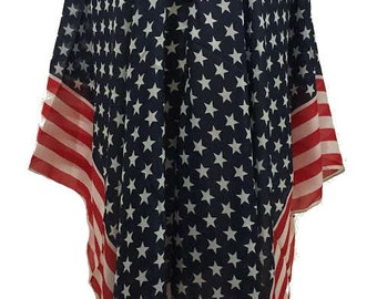 American Flag Blouse