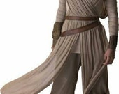 Star Wars Rey Costume, cosplay, complete outfit, cotton gauze