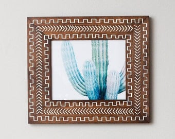Picture Frame 8x10 | 8x10 | Brown Wood Frame