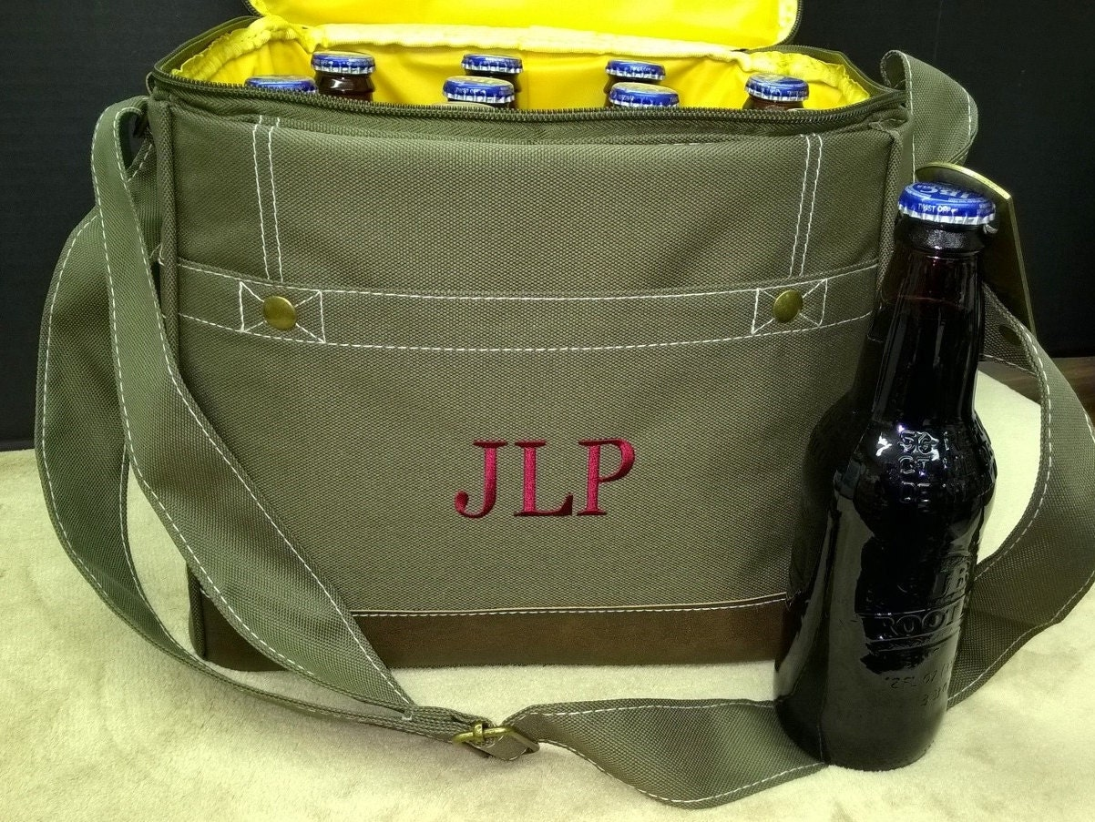 set of 7 personalized cooler bags groomsmen gifts bridal party
